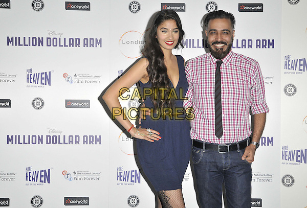 LONDON, ENGLAND - JULY 14: Shay Grewal &amp; Sunny Grewal attend the London Indian Film Festival &quot;Million Dollar Arm&quot; UK film premiere, Cineworld Shaftesbury Avenue cinema, Coventry St., on Monday July 14, 2014 in London, England, UK. <br /> CAP/CAN<br /> &copy;Can Nguyen/Capital Pictures