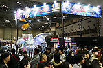 Visitors gather at the Anime Japan 2016 in Tokyo Big Sight on March 26, 2016, Tokyo, Japan. Anime Japan 2016 is the world's biggest exhibition promoting all aspects of the Anime industry to local and foreign fans and business investors. The exhibition is held over three days until March 27 and is expected to attract some 120,000 visitors, many wearing cosplay. (Photo by Rodrigo Reyes Marin/AFLO)