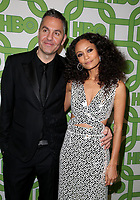 06 January 2019 - Beverly Hills , California - Ol Parker and Thandie Newton. 2019 HBO Golden Globe Awards After Party held at Circa 55 Restaurant in the Beverly Hilton Hotel. Photo Credit: Faye Sadou/AdMedia