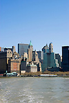 New York City, New York: Skyline of New York lower manhattan post 9-11.  .Photo #: ny226-14622  .Photo copyright Lee Foster, www.fostertravel.com, lee@fostertravel.com, 510-549-2202.