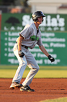 Jamestown Jammers Danny Black during a game vs. the Batavia Muckdogs at Dwyer Stadium in Batavia, New York;  September 2nd, 2010.   Jamestown defeated Batavia 5-4.  Photo By Mike Janes/Four Seam Images