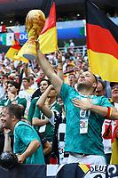 Deutscher Fan mit Weltmeisterpokal- 17.06.2018: Deutschland vs. Mexico, Luschniki Stadium Moskau