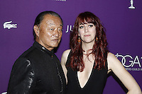 www.acepixs.com<br /> <br /> February 21 2017, LA<br /> <br /> Actor Cary-Hiroyuki Tagawa (l) and designer J.R. Hawbaker arriving at the 19th CDGA (Costume Designers Guild Awards) at The Beverly Hilton Hotel on February 21, 2017 in Beverly Hills, California. <br /> <br /> By Line: Famous/ACE Pictures<br /> <br /> <br /> ACE Pictures Inc<br /> Tel: 6467670430<br /> Email: info@acepixs.com<br /> www.acepixs.com