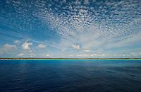 A view of Half Moon Cay, Bahamas from the Caribbean Sea, Feb. 10, 2012