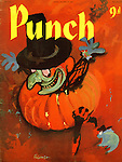 Punch (front cover, 29 October 1958)