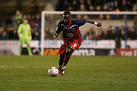Nathan Mavila of Hampton & Richmond Borough during Hampton & Richmond Borough vs Oldham Athletic, Emirates FA Cup Football at the Beveree Stadium on 12th November 2018