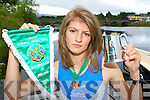 Killorglin rower Monika Dukarska who won the Novice Womens Single Skull at the National championships in Iniscarra Cork over the weekend   Copyright Kerry's Eye 2008