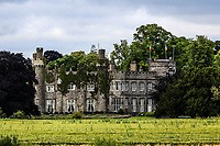A view of Luttrellstown Castle from the 7th tee during Round 1 of the Titleist &amp; Footjoy PGA Professional Championship at Luttrellstown Castle Golf &amp; Country Club on Tuesday 13th June 2017.<br /> Photo: Golffile / Thos Caffrey.<br /> <br /> All photo usage must carry mandatory copyright credit     (&copy; Golffile | Thos Caffrey)