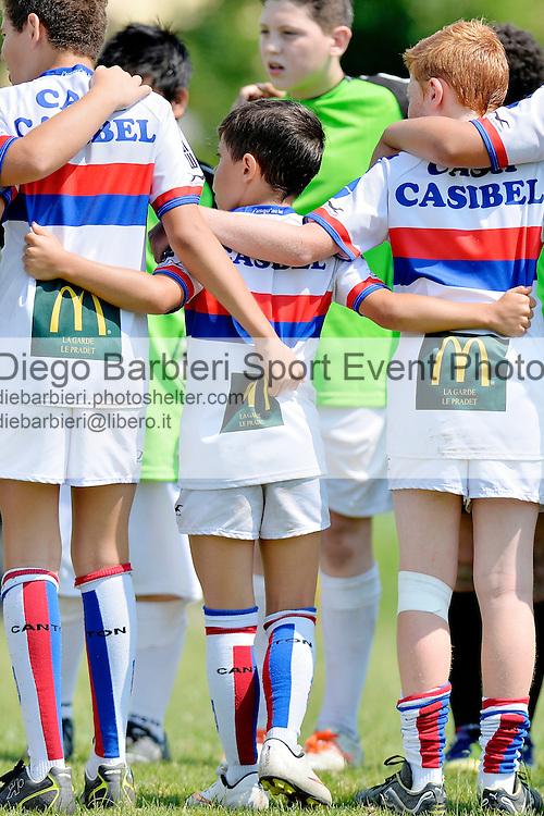 6 - 7 giugno 2015, Settimo torinese, TORINO, ITALY: si tiene il consueto Trofeo della Torre, torneo giovanile di rugby U6, U8, U10, U12 e U14. Questa edizione registra un record di partecipazione, presso l'impianto di Cascina Nuova a Settimo Torinese.