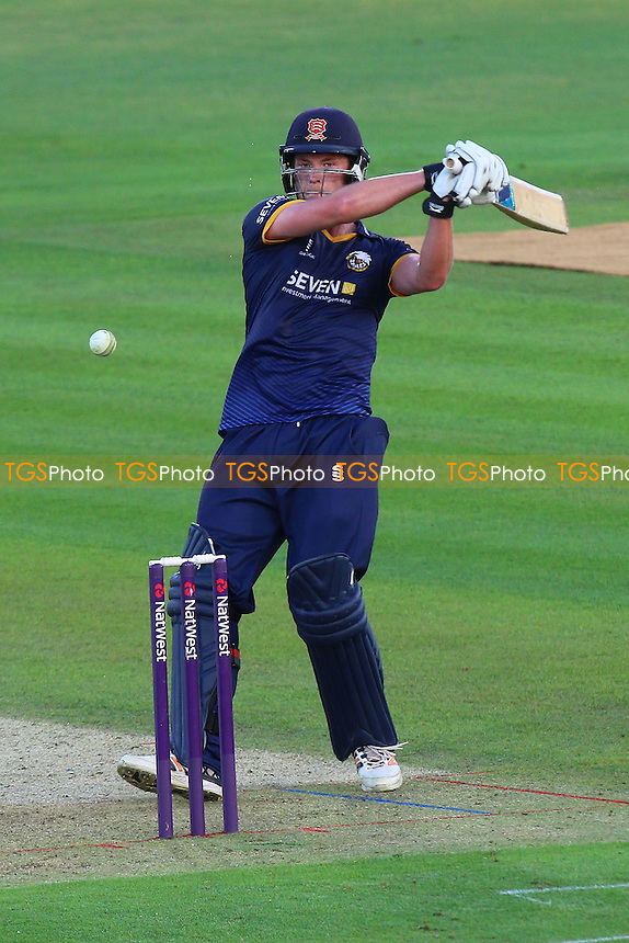 Tom Westley in batting action for Essex during Kent Spitfires vs Essex Eagles, NatWest T20 Blast Cricket at the St Lawrence Ground on 22nd July 2016