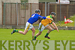 Kerry's John Fitzgerald no.4 and Meath's no.13 Ger O'Neill.   Copyright Kerry's Eye 2008