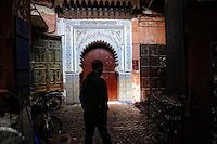In the Souks of Marrakesh, Morocco, Northern Africa, 2013