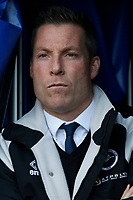 Neil Harris manager of Millwall during the Sky Bet Championship match between Millwall and Sheff United at The Den, London, England on 2 December 2017. Photo by Carlton Myrie / PRiME Media Images.