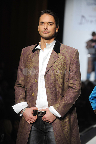 Marcus Schenkenberg at the 9th Annual 'Dressed To Kilt' charity fashion show at Hammerstein Ballroom in New York City. April 5, 2011 Credit: Dennis Van Tine/MediaPunch
