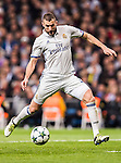 Karim Benzema of Real Madrid in action during the 2016-17 UEFA Champions League match between Real Madrid and Borussia Dortmund at the Santiago Bernabeu Stadium on 07 December 2016 in Madrid, Spain. Photo by Diego Gonzalez Souto / Power Sport Images
