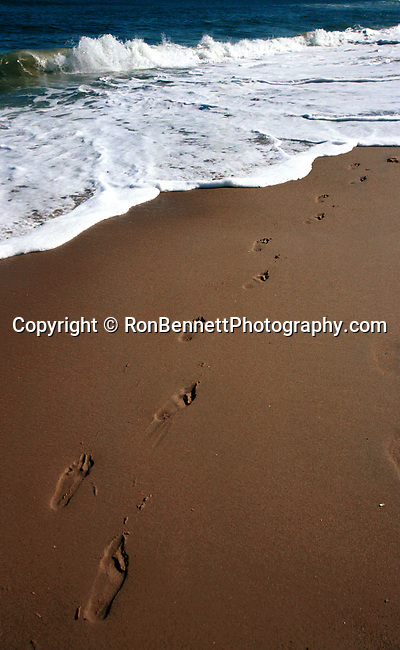 Foot prints in the sand on the Atlantic coast Virginia Beach Virginia, foot prints in sand, sand foot prints, foot prints on the sand, foot prints in the sand, Foot prints on the beach, Foot prints in the sand, foot prints, Foot prints sand, sandy foot prints, Foot Prints in the sand with Atlantic surf rolling in Virginia Beach Virginia,