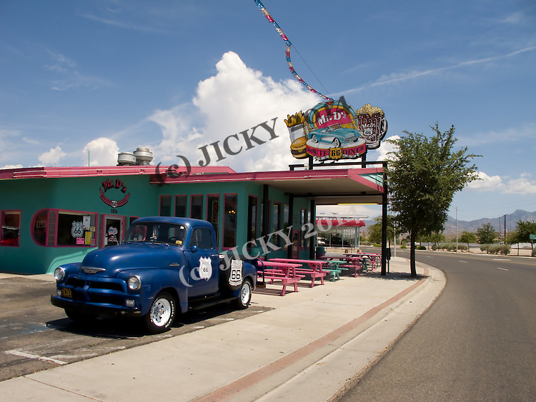 Historic Route 66 - Mr D's Diner