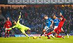4.3.2018: Rangers v Falkirk Scottish Cup QF<br /> Jason Cummings scores his hat trick