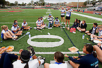 Redondo Beach, CA 05/14/11 - The Cate team during half time.