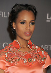 LOS ANGELES, CA - OCTOBER 27: Kerry Washington arrives at LACMA Art + Film Gala at LACMA on October 27, 2012 in Los Angeles, California.