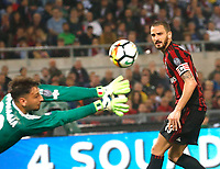 Leonardo Bonucci  during the  Coppa Italia ( Tim Cup) final soccer match,  Ac Milan  - Juventus Fc       at  the Stadio Olimpico in Rome  Italy , 09 May 2018