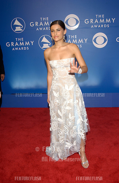 Singer NELLY FURTADO at the 2002 Grammy Awards in Los Angeles.