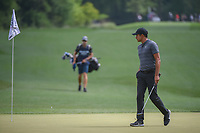 Julian Suri (USA) looks over his putt on 11 during round 1 of the Houston Open, Golf Club of Houston, Houston, Texas. 3/29/2018.<br /> Picture: Golffile | Ken Murray<br /> <br /> <br /> All photo usage must carry mandatory copyright credit (© Golffile | Ken Murray)