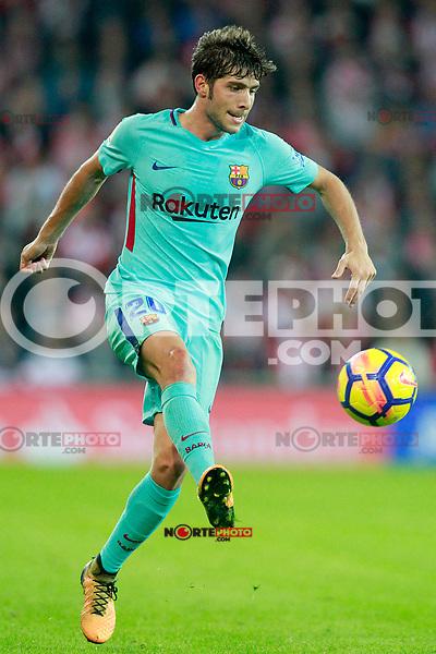 FC Barcelona's Sergi Roberto during La Liga match. October 28,2017. (ALTERPHOTOS/Acero) /NortePhoto.com