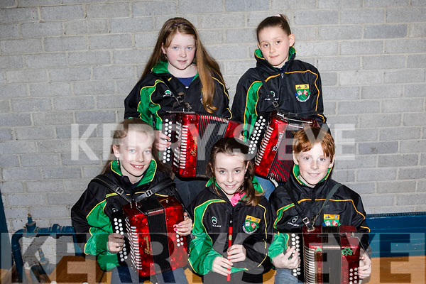 Juniors<br /> ----------<br /> Pupils from Sco&iacute;l Naomh Eoin Baiste, Lispole, who were at the the North Scor Na bPaisti finals last Saturday afternoon in the Presentation secondary school, Castleisland were, Front L-R Aisling Duffy, Ao&iacute;bh&aacute;onn Galvin&amp;David Keane, Back L-R Simone Lynch with Eileen Diggin.