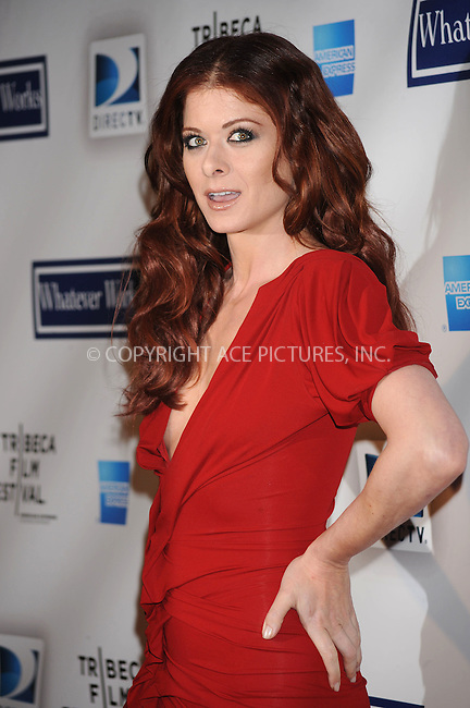 WWW.ACEPIXS.COM . . . . . ....April 22 2009, New York City....Actress Debra Messing arriving at the premiere of 'Whatever Works' during the 2009 Tribeca Film Festival at Ziegfeld on April 22, 2009 in New York City.....Please byline: KRISTIN CALLAHAN - ACEPIXS.COM.. . . . . . ..Ace Pictures, Inc:  ..tel: (212) 243 8787 or (646) 769 0430..e-mail: info@acepixs.com..web: http://www.acepixs.com