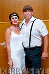 Gina Durran and Simon Coffey contestants  at the Tralee Rugby Club's 'Strictly Come Dancing' event in the Ballyroe Heights Hotel on Friday night.