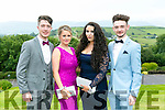 Enjoying the Colaiste Ide agus Iosef, Abbeyfeale  Debs at Ballyroe Heights Hotel on Tuesday were l-r  Kieran Horan, Emily Collins, Majella Lucey and Stephen O'Regan