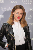 Marta Hazas poses for the photographers during TOUS presentation in Madrid, Spain. January 21, 2015. (ALTERPHOTOS/Victor Blanco) /NortePhoto<br /> NortePhoto.com