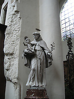 St. Anthony statue -Brussels, Belgium
