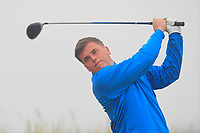 James Sugrue (Mallow) on the 1st tee during Round 1 - Matchplay of the North of Ireland Championship at Royal Portrush Golf Club, Portrush, Co. Antrim on Wednesday 11th July 2018.<br /> Picture:  Thos Caffrey / Golffile