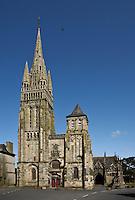 Europe/France/Bretagne/29/Finistère/Le Folgoêt: La basilique Notre-Dame