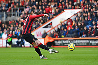 Harry Wilson of Bournemouth takes a free kick during AFC Bournemouth vs Watford, Premier League Football at the Vitality Stadium on 12th January 2020
