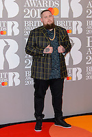 www.acepixs.com<br /> <br /> February 22 2017, London<br /> <br /> Rag 'n' Bone Man arriving at The BRIT Awards 2017 at The O2 Arena on February 22, 2017 in London, England.<br /> <br /> By Line: Famous/ACE Pictures<br /> <br /> <br /> ACE Pictures Inc<br /> Tel: 6467670430<br /> Email: info@acepixs.com<br /> www.acepixs.com