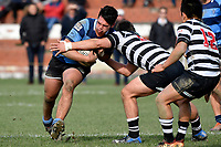 College Rugby - Christs College v Nelson College at Wellington College, Wellington, New Zealand on Monday 1 July 2019. <br /> Photo by Masanori Udagawa. <br /> www.photowellington.photoshelter.com