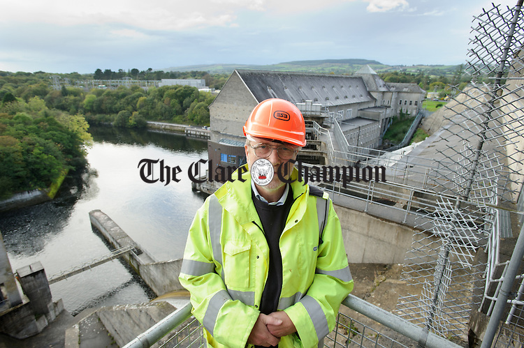 Tom Hayes, Civil Engineering manager at Ardnacrusha Generating Station. Photograph by John Kelly.