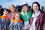 Saddle up<br /> --------------<br /> Enjoying the races at B&eacute;al B&aacute;n, Ballyferritor last Sunday were L-R Padraig, Aine, Abbie, Patricia agus Jullian O Muircheartaigh.