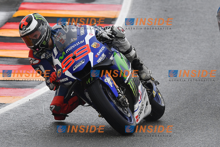 Sachsenring (Germania) 17-07-2015 - Moto GP / foto Luca Gambuti/Image Sport/Insidefoto<br /> nella foto: Jorge Lorenzo
