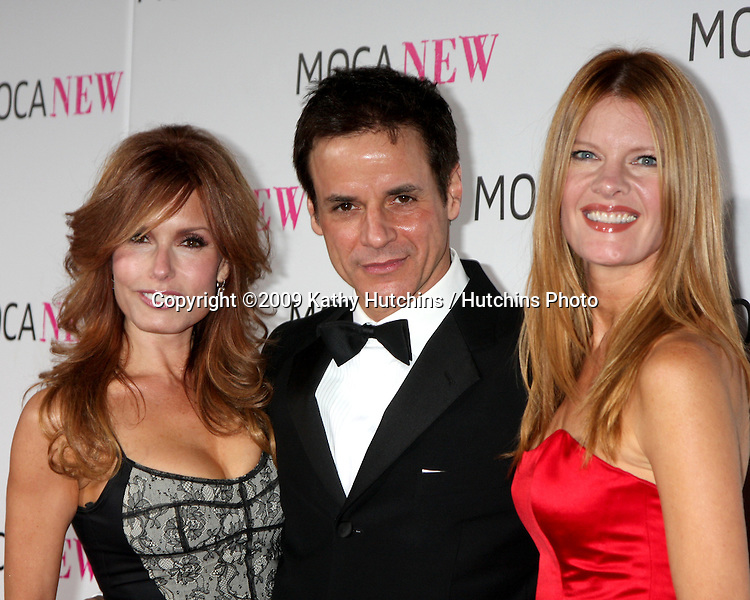 Tracey Bregman, Christian LeBlanc, & Michelle Stafford.arriving at the Museum of Contemporary Art, Los Angeles 30th Anniversary Gala.MOCA Grand Avenue.Los Angeles,  CA.November 14, 2009.©2009 Kathy Hutchins / Hutchins Photo.