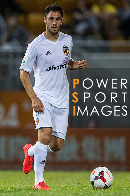 Víctor Ruiz of Valencia CF in action during LFP World Challenge 2014 between Valencia CF vs Villarreal CF on May 28, 2014 at the Mongkok Stadium in Hong Kong, China. Photo by Victor Fraile / Power Sport Images