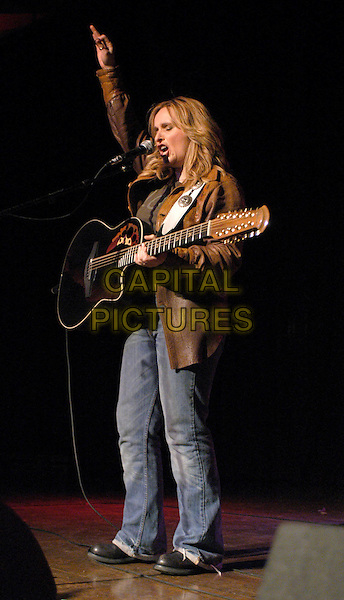 MELISSA ETHERIDGE.Rock for Choice Benefit Concert held at The Hollywood Palladium in Hollywood, California .23 January 2004       .*UK Sales Only*                                           .music, gig, singing, live, playing guitar, full length, full-length                                    .www.capitalpictures.com.sales@capitalpictures.com.©Capital Pictures.