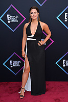 LOS ANGELES, CA. November 11, 2018: Carissa Culiner at the E! People's Choice Awards 2018 at Barker Hangar, Santa Monica Airport.<br /> Picture: Paul Smith/Featureflash