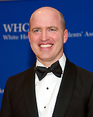 White House Correspondents Association president Jeff Mason arrives for the 2017 WHCA Annual Dinner at the Washington Hilton Hotel on Saturday, April 29, 2017.<br /> Credit: Ron Sachs / CNP