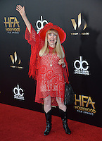 BEVERLY HILLS, CA. November 6, 2016: Actress Terry Moore at the 2016 Hollywood Film Awards at the Beverly Hilton Hotel.<br /> Picture: Paul Smith/Featureflash/SilverHub 0208 004 5359/ 07711 972644 Editors@silverhubmedia.com