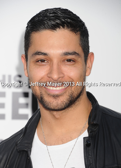 WESTWOOD, CA- JUNE 03: Co-Producer Wilmer Valderrama arrives at the 'This Is The End' - Los Angeles Premiere at Regency Village Theatre on June 3, 2013 in Westwood, California.