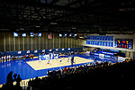 PENSACOLA, FL - DECEMBER 09: A general view of UWF Field House during the Division II Women's Volleyball Championship held at UWF Field House on December 9, 2017 in Pensacola, Florida. (Photo by Timothy Nwachukwu/NCAA Photos via Getty Images)